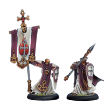 Menoth Temple Flameguard Officer & Standard (2)